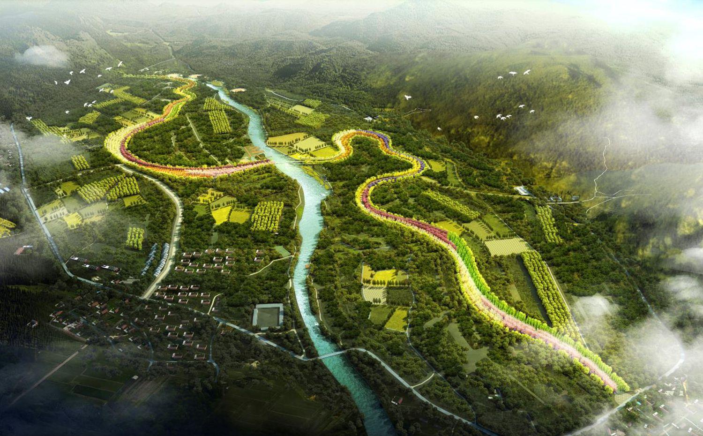 天津蓟县满族风情园概念规划
