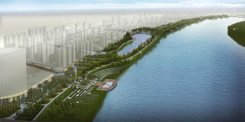 海城市二台子滨河公园景观方案设计