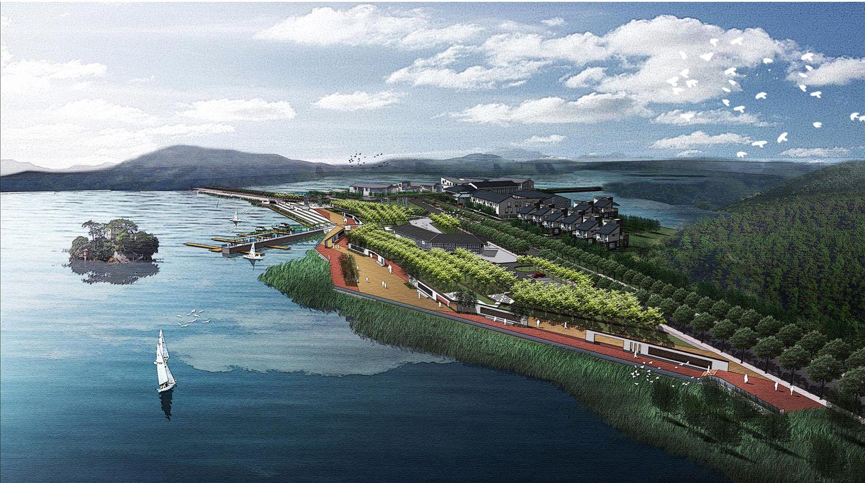 鄱阳湖公园景观设计