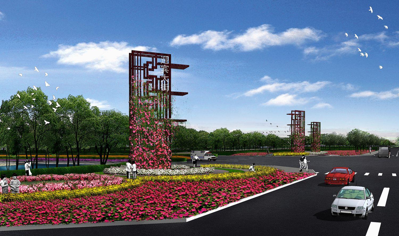 无棣县棣洲大街绿化景观工程设计