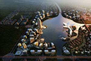 连云港市徐圩新区云湖核心区城市设计